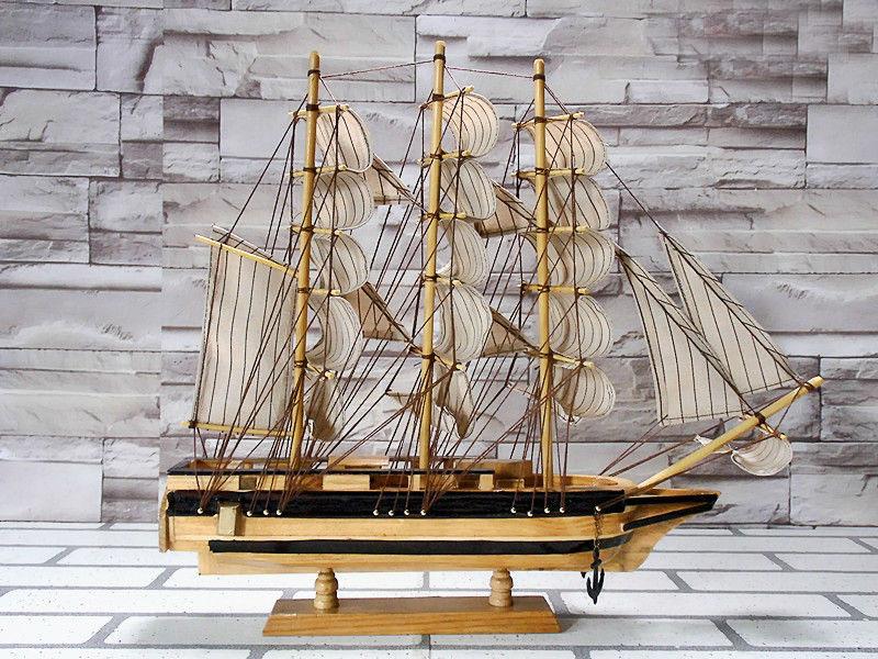 Mô hình thuyền gỗ Confection 45cm
