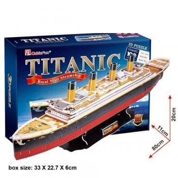 Xếp hình 3D – Tàu Titanic T4011h